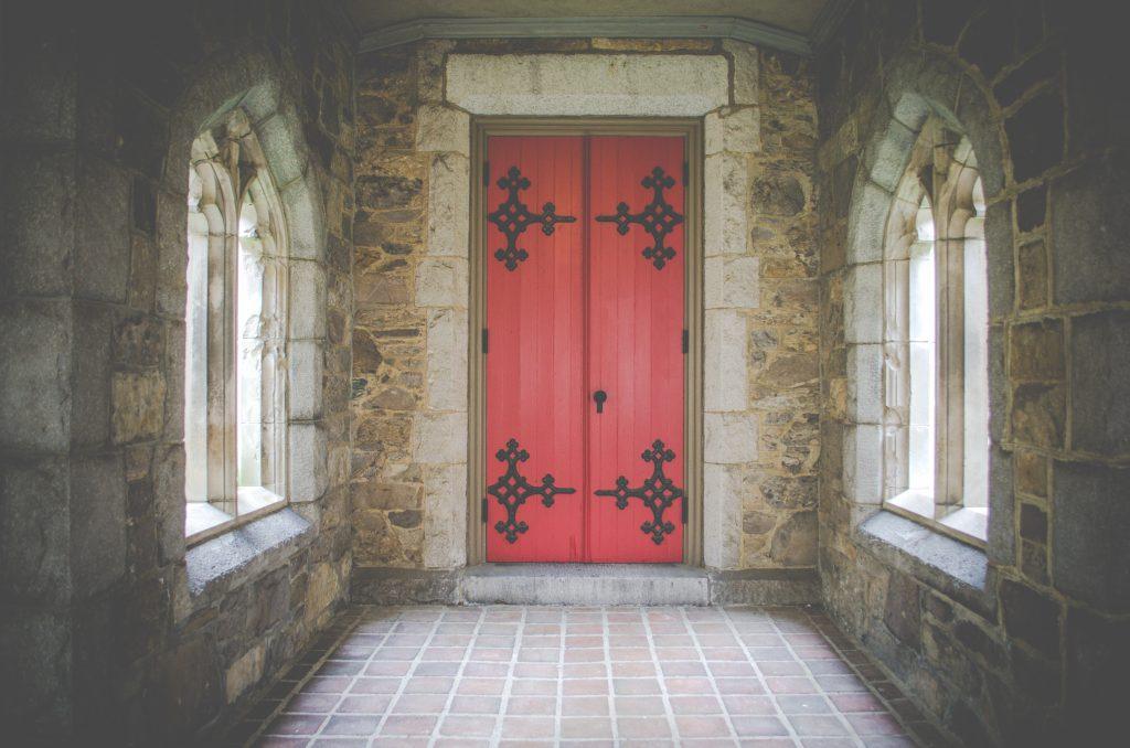 Ich bin die Tür