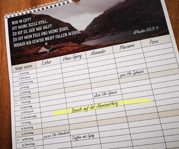 Herold Kalender 2020