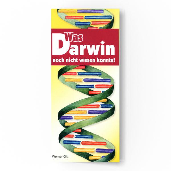 Was Darwin noch nicht wissen konnte
