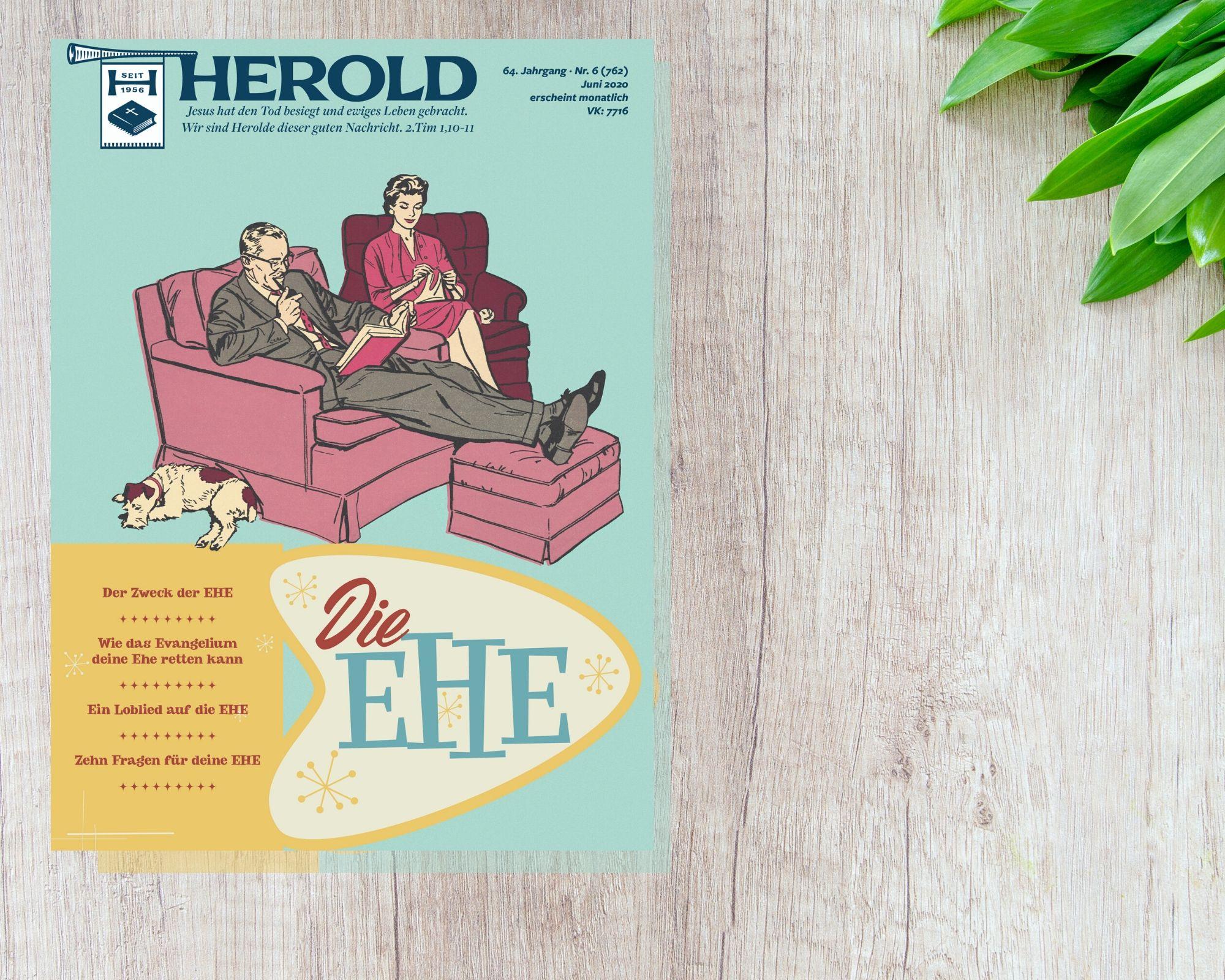 Die Ehe – Herold Juni 2020