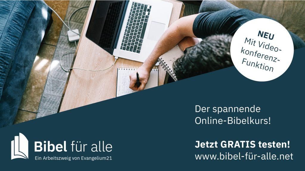 Bibel für alle – ein Bibel-Online-Kurs