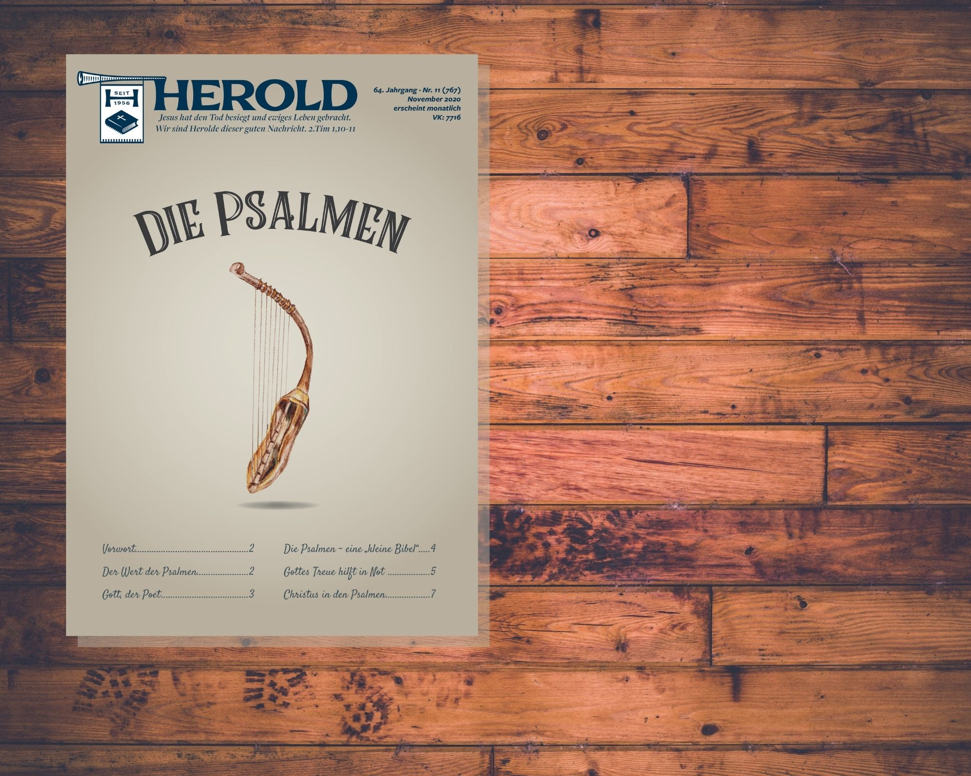 Die Psalmen – Herold November 2020